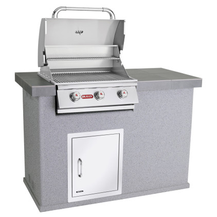 El Morro Outdoor Kitchen Grey Open
