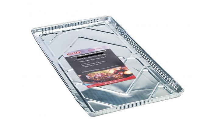 "24268 - 30"" Foil Grease Tray Liners (12 pack)"