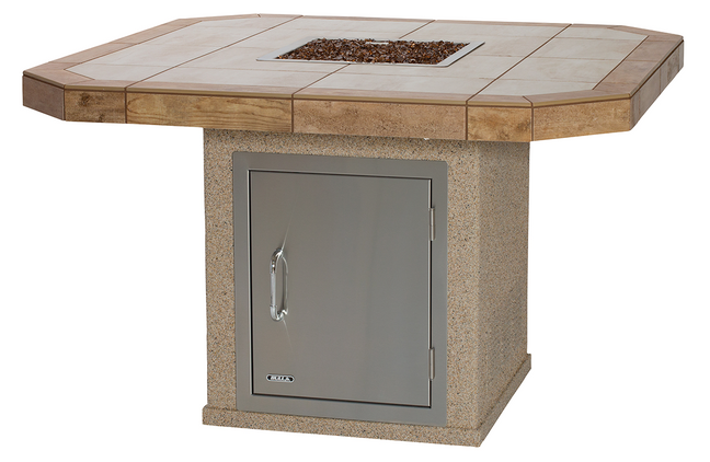 Square Fire Table