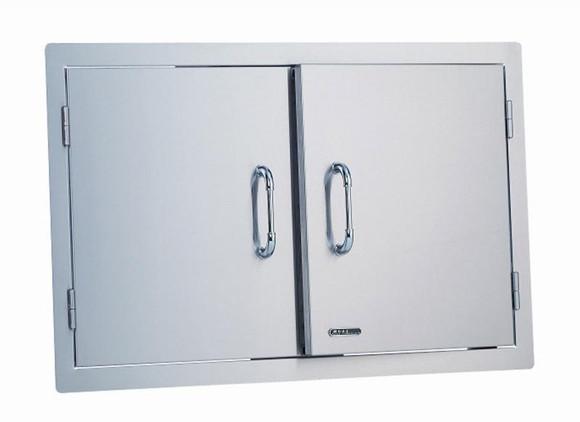 """33568 30"""" Double Door, Stainless Steel"""