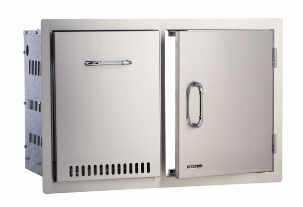65784 Stainless Steel Door / Propane Drawer Combo