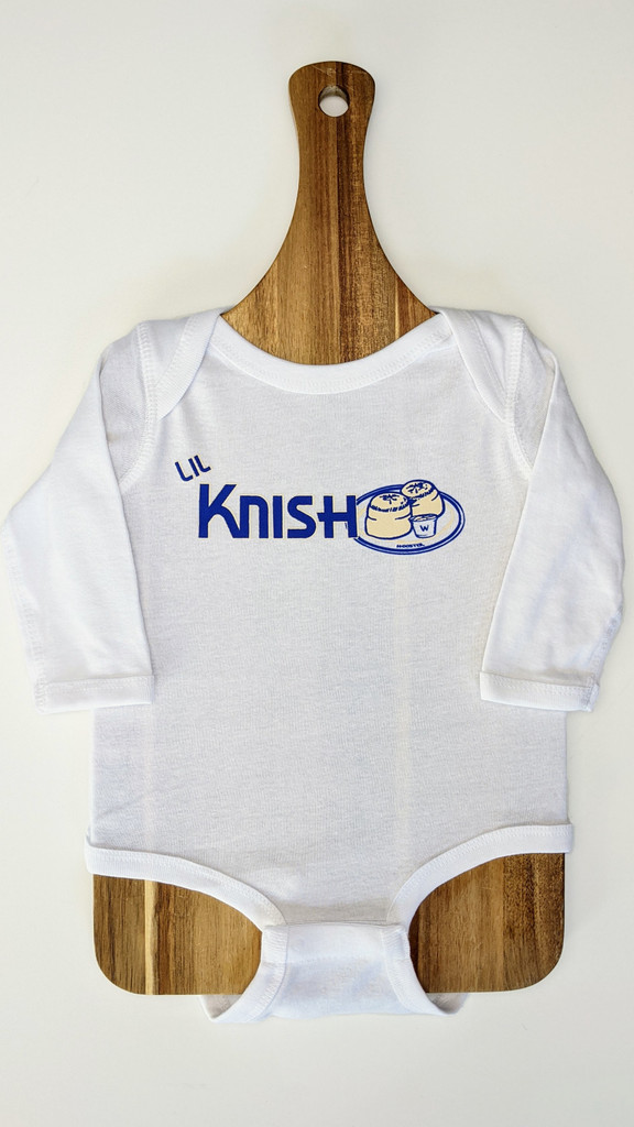 Lil Knish - Long Sleeve Onesie