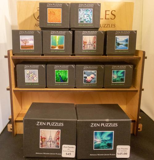 Wooden Zen Puzzle Teasers