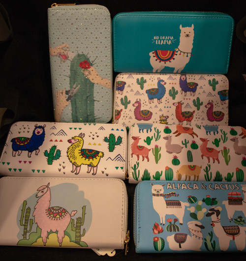 Alpaca and Llama Wallets