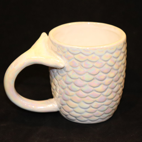 Iridescent Mermaid Tail Mug