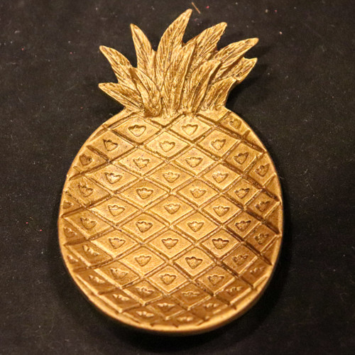 Metal Pineapple Shaped Tray