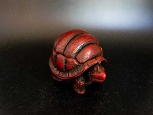 Resin Turtle Jar