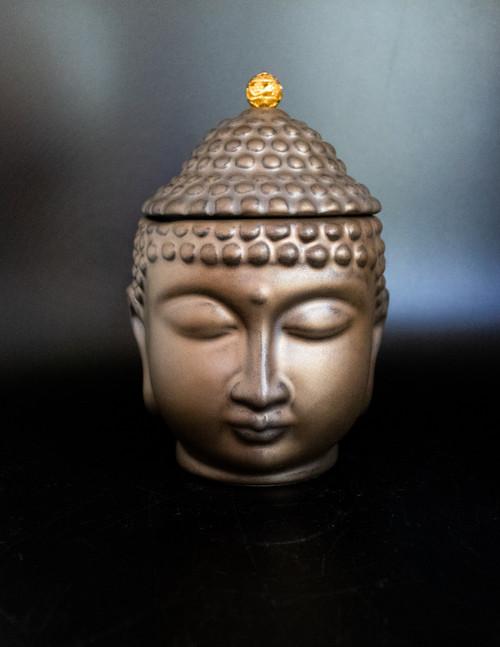 Serene Buddha Jar
