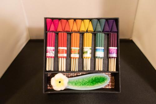 Rainbow Incense Set
