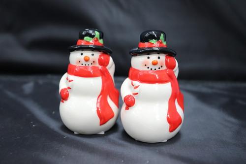 Snowman Salt and Pepper Shaker