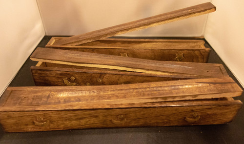 Wooden Incense Stash Box