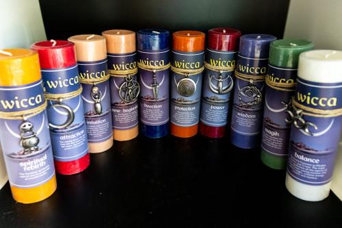 Wicca Pillar Candles