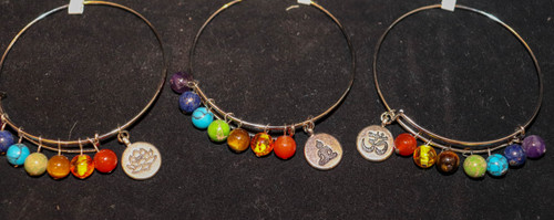 Chakra Charm Bracelets from Nature's Retreat