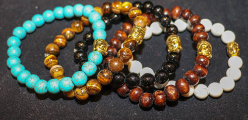 Gold Buddha Bracelets
