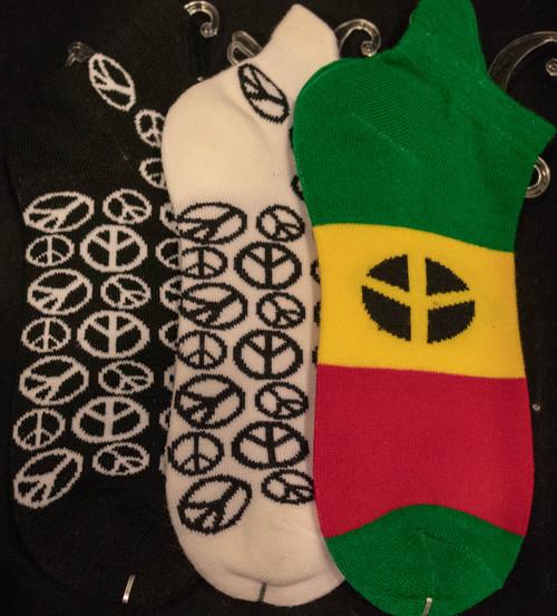 Peace Sign Socks