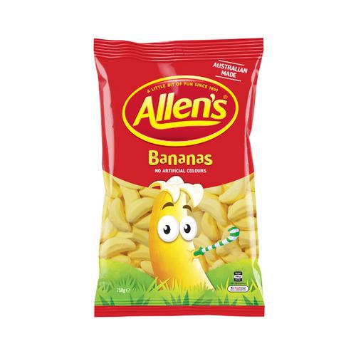 allen's bananas 750g