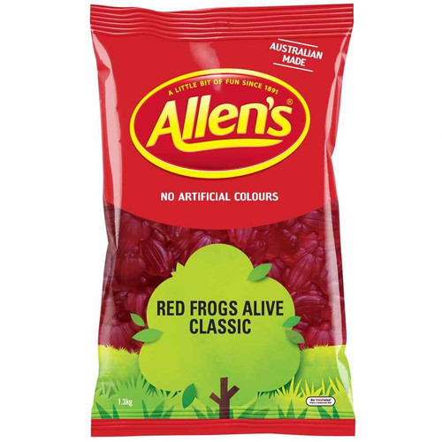 Allens Red Frogs