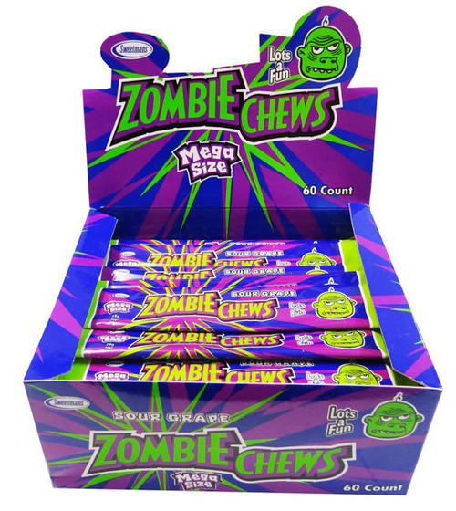 zombie chews grape