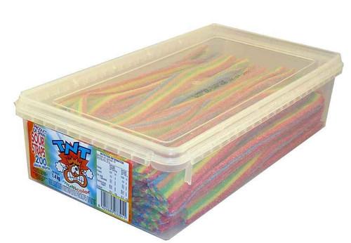 TNT multicolour sour straps