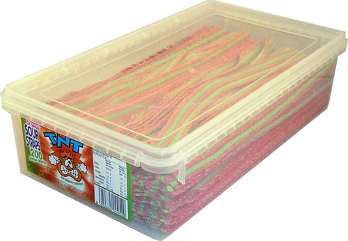 TNT watermelon sour straps