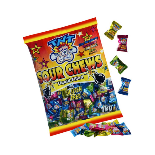 Super sour chews