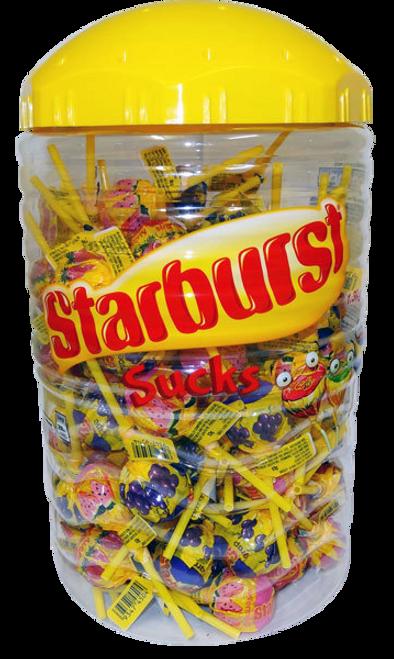 Starburst Sucks Lollipops