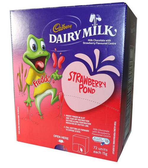 strawberry freddo box
