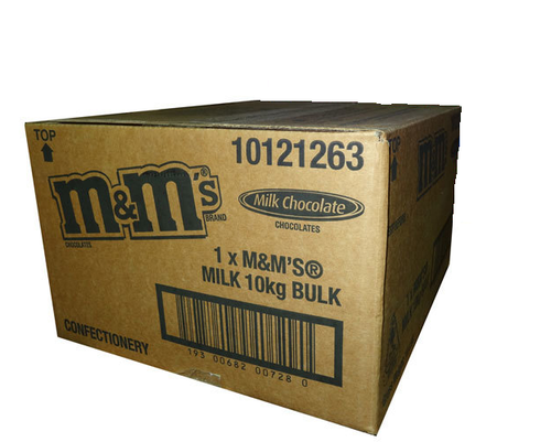 M&M plain milk 10kg