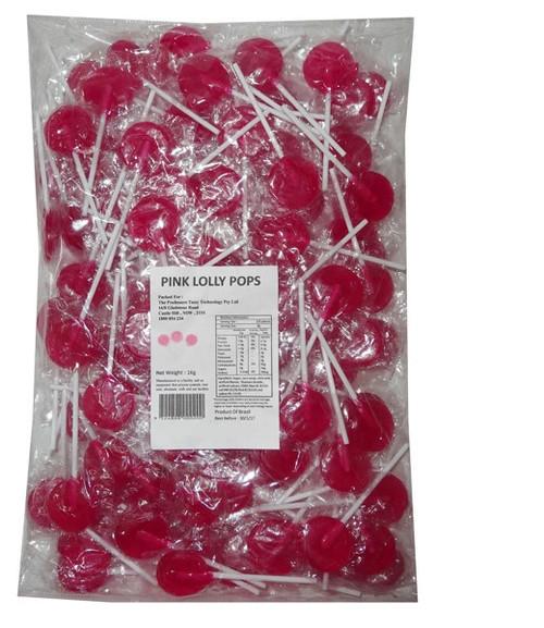 Flat Lollipops Pink