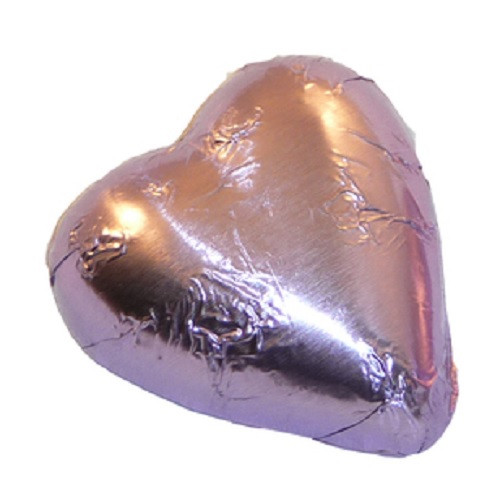 pink chocolate heart
