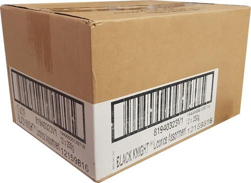 black knight licorice box