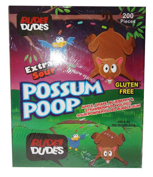 possum poop