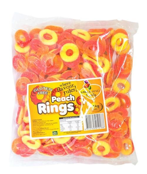 peach rings 1kg