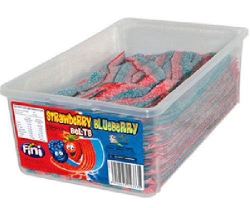 fini strawberry blueberry belts