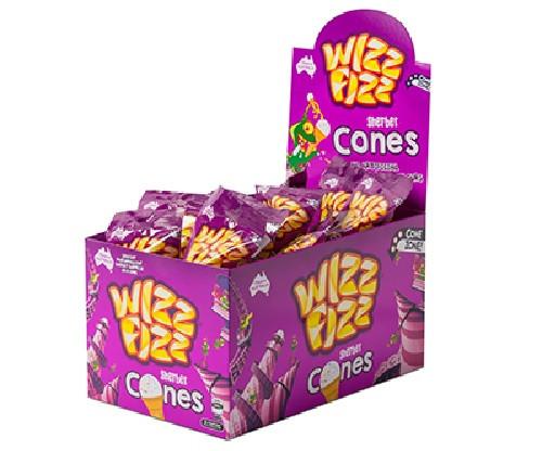 wizz fizz sherbet cones