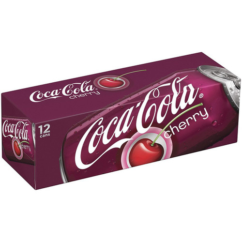 cherry coke 12pk 355ml cans