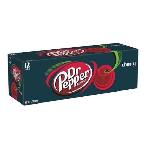 Dr Pepper Cherry 12pk 355ml cans