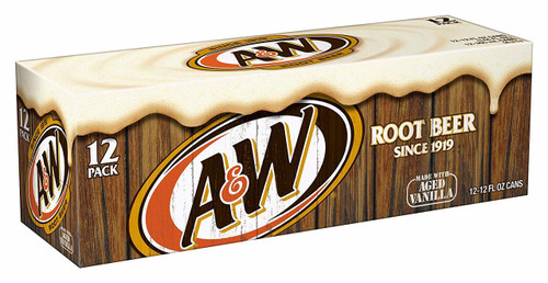 AW root beer 12pk 355ml cans
