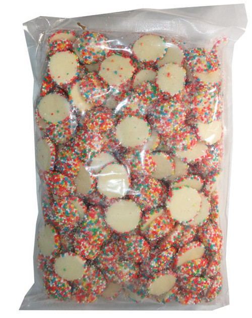 white choc speckles jewels