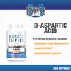 D-Aspartic Acid (DAA) Capsules | 3000mg | 240 Count