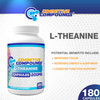 L-Theanine Capsules | 200mg | 180 Count