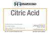 BULK Citric Acid Food Grade Powder