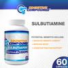 Sulbutiamine Capsules   200mg   60 Count