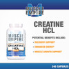 Creatine HCl Capsules | 500mg | 240 Count