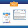 Turkey Tail Mushroom Capsules | 1000mg | 30% Beta Glucan Min. | Trametes versicolor | 180 Count | Whole Fruiting Body