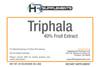 BULK Triphala 40% Tannins Fruit Extract Powder