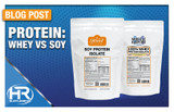 Protein: Whey or Soy?