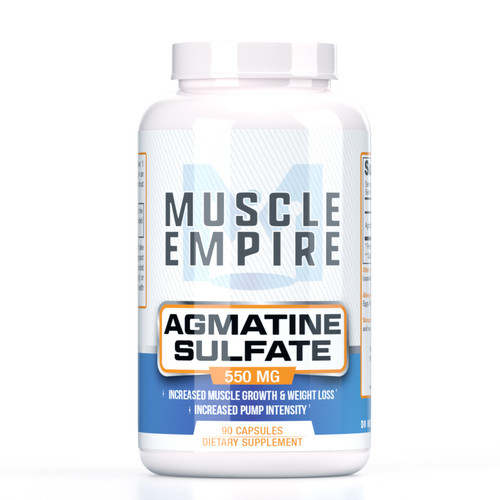 Agmatine Sulfate Capsules | 550mg  | 90 Count