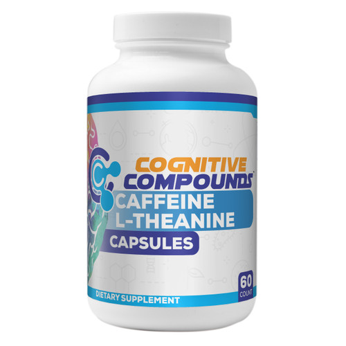 Caffeine L-Theanine  Capsules | 60 Count