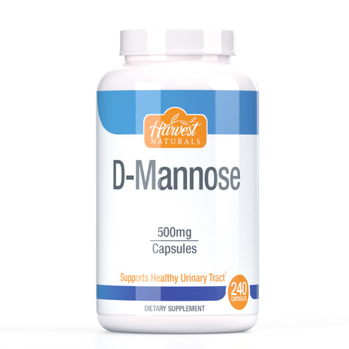 D-Mannose Capsules   500mg   240 Count